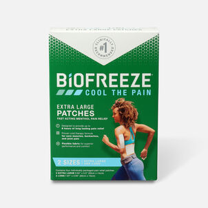 Biofreeze Extra Large Pain Relief Patch, Variety Pack, 4 pc