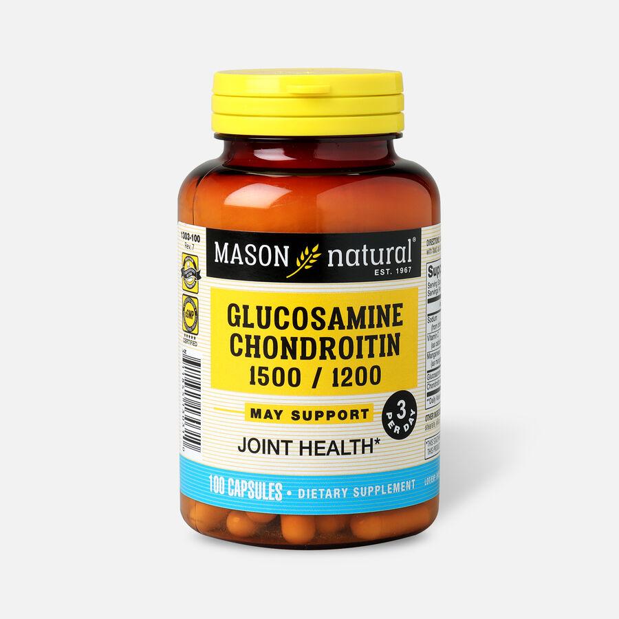 Mason Vitamins Natural Glucosamine Chondroitin Double Strength 1500/1200 3 per Day, , large image number 3