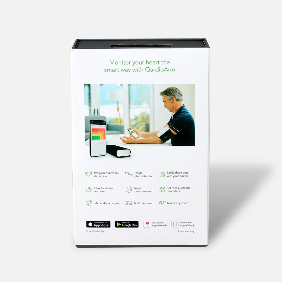 QardioArm Smart Blood Pressure Monitor, , large image number 1