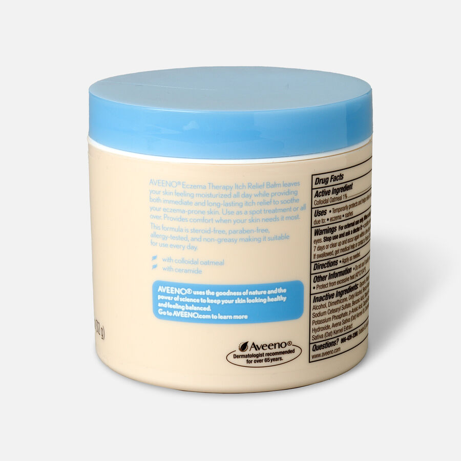 Aveeno Eczema Therapy Itch Relief Balm Jar, 11oz., , large image number 2
