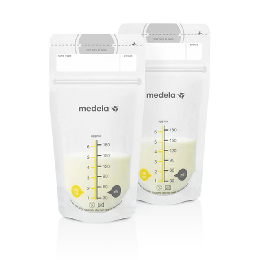 Medela Breast Milk 6oz Storage Bags, 100 count, , large image number 3