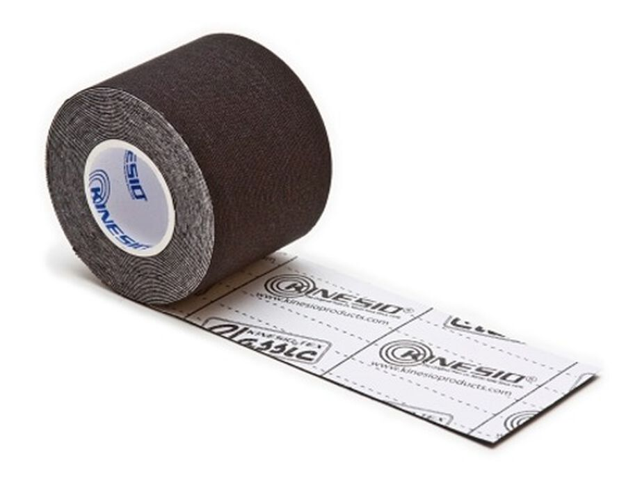 Kinesio Tex Classic Tape Standard Roll, Black, , large image number 2
