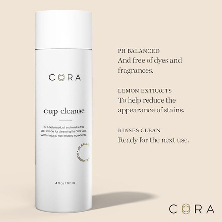 Cora Cup Cleanser, 4 oz, , large image number 5