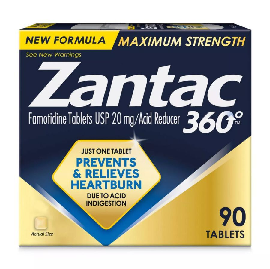 Zantac 360 Maximum Strength Acid Reducer, 20 mg Tablets, , large image number 2