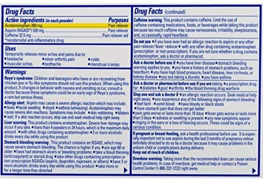 Goody's Extra Strength Headache Powder, 50 ct., , large image number 1