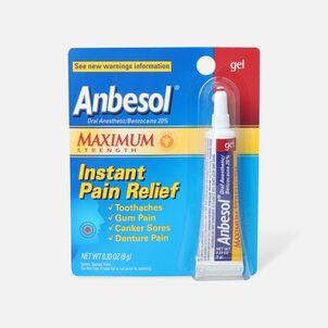 Anbesol Maximum Strength Gel, 0.33 oz.