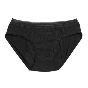 Caring Mill™ Hiphugger Period Underwear-Black