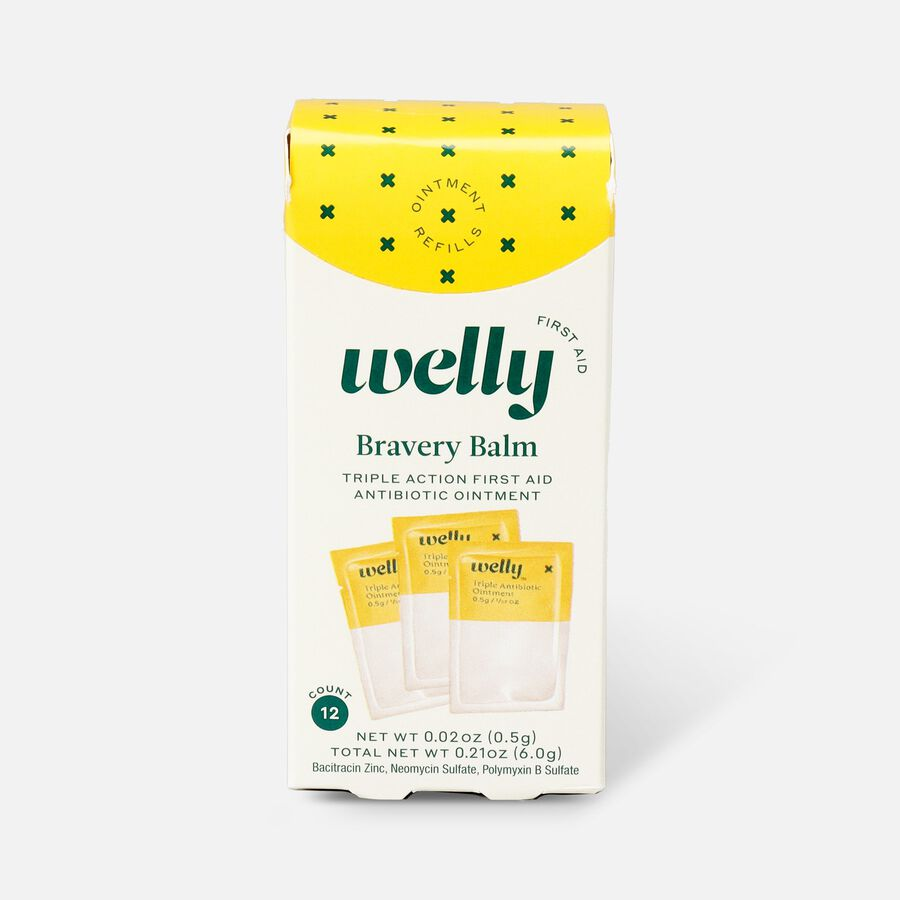 Welly Bravery Balm Triple Antibiotic Ointment Refill - 12ct, , large image number 0
