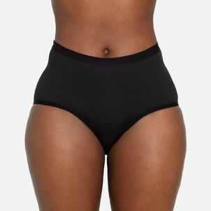 The Period Company, The Light Absorbency High Waisted, Black