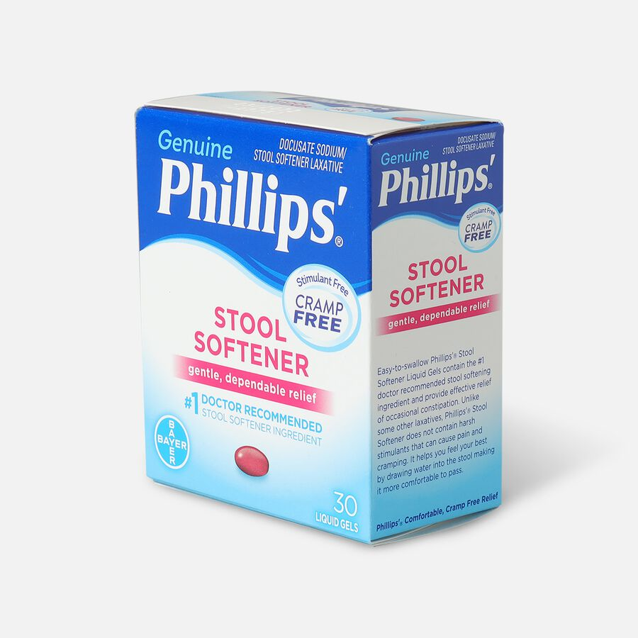 Phillips' Stool Softener Liquid Gels Liquid Gels 30ea., , large image number 2
