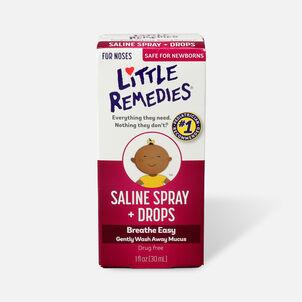 Little Noses Saline Spray/Drops, Non-Medicated, 1 fl oz