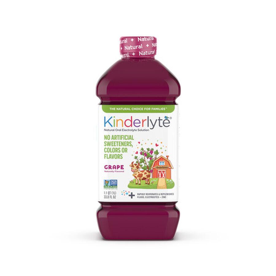 Kinderlyte Natural Oral Electrolyte Solution, Liquid, 33.8 fl. oz., , large image number 1