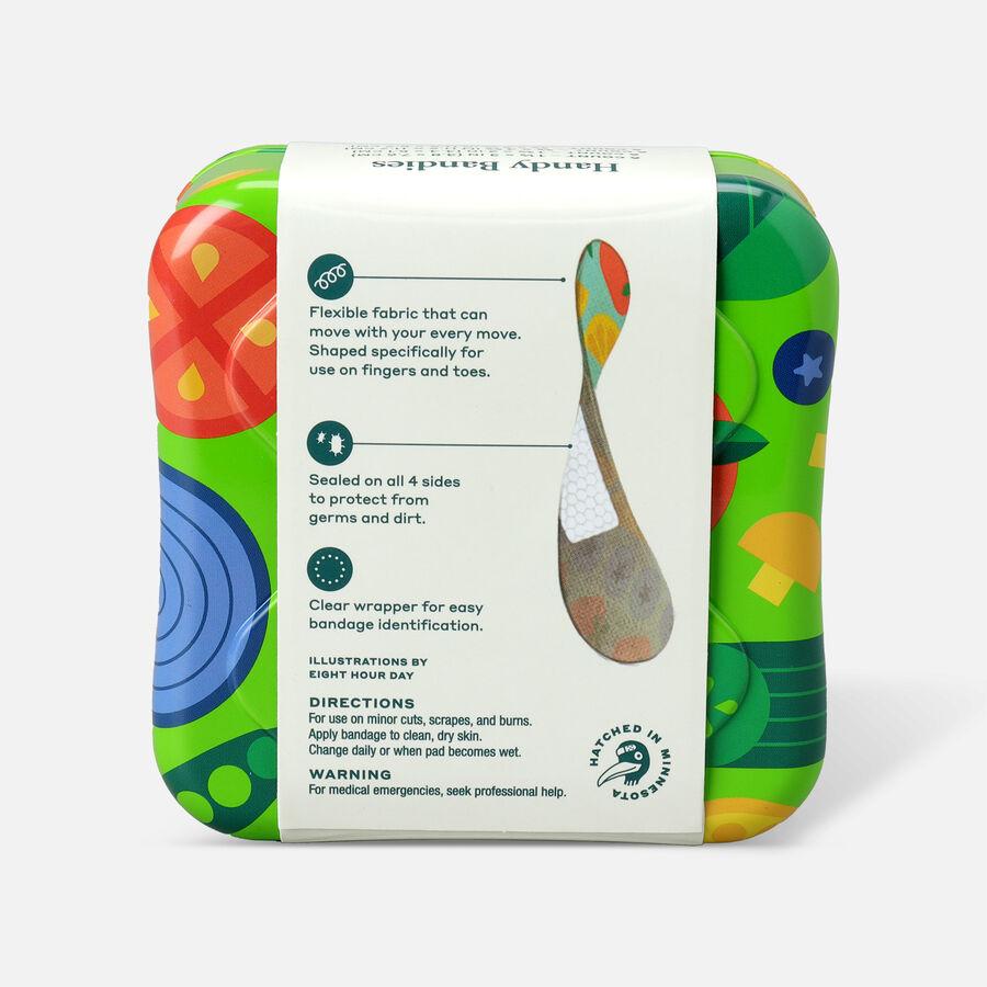 Welly Handy Bandies Veggie Assorted Toe & Finger Flex Fabric Bandages - 24ct, , large image number 1