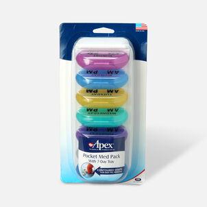 Apex Pocket Med Pack with 7 Day, Carex 70075