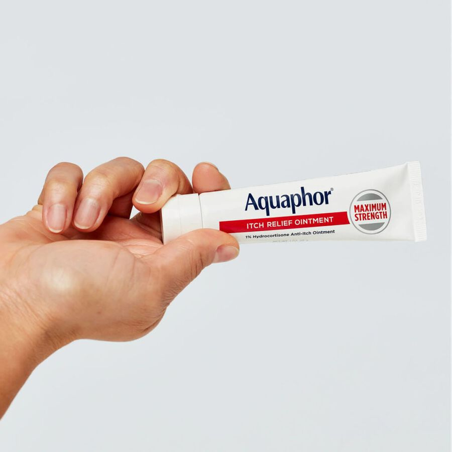 Aquaphor Itch Relief Ointment, 1% Hydrocortisone, 1oz., , large image number 5