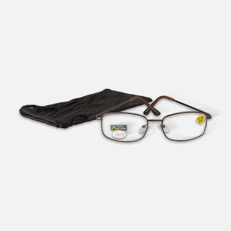 Today's Optical Black Chrome Reading Glasses, +1.75, , large image number 1