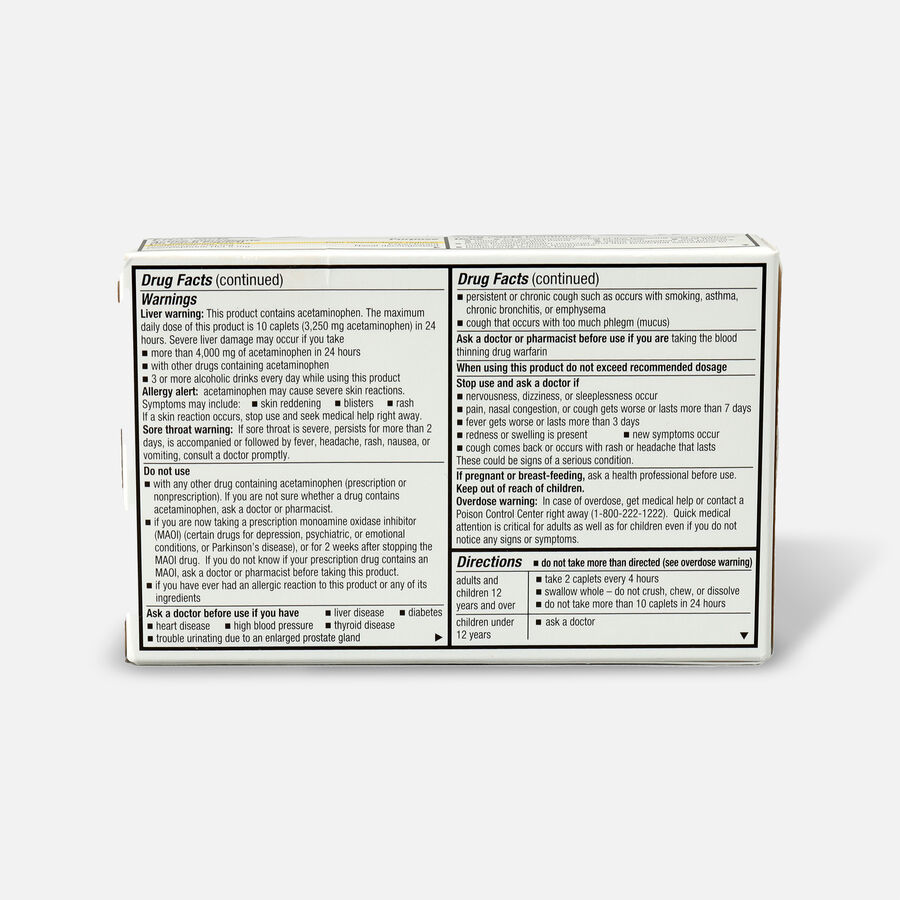 GoodSense® Cold & Head Congestion Severe Adult Caplets, 24 ct, , large image number 1