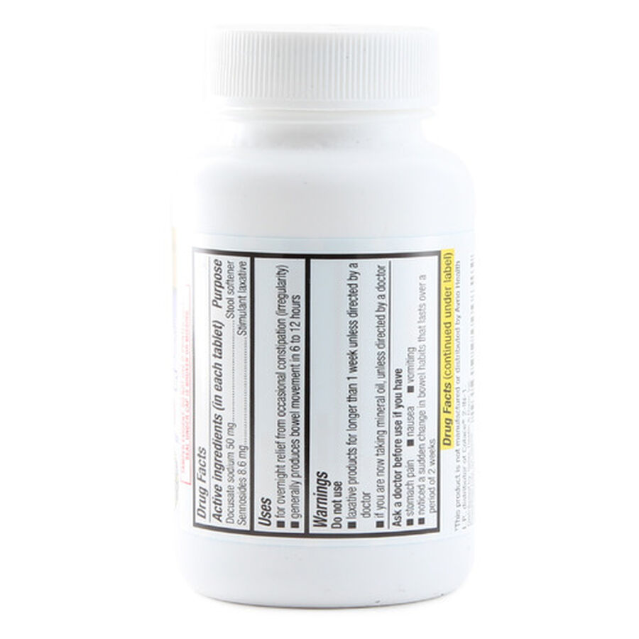 GoodSense® Stimulant Laxative + Stool Softner Overnight Relief Tabs, 100 ct, , large image number 1