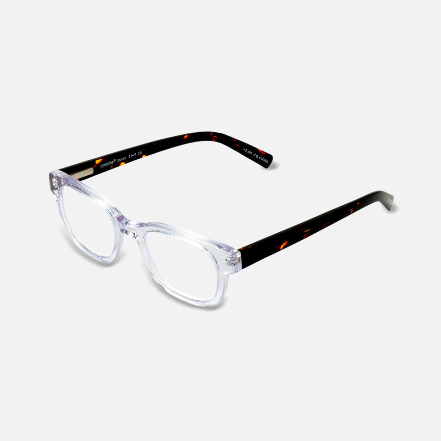 EyeBobs Butch Reading Glasses,Clear, , large image number 14