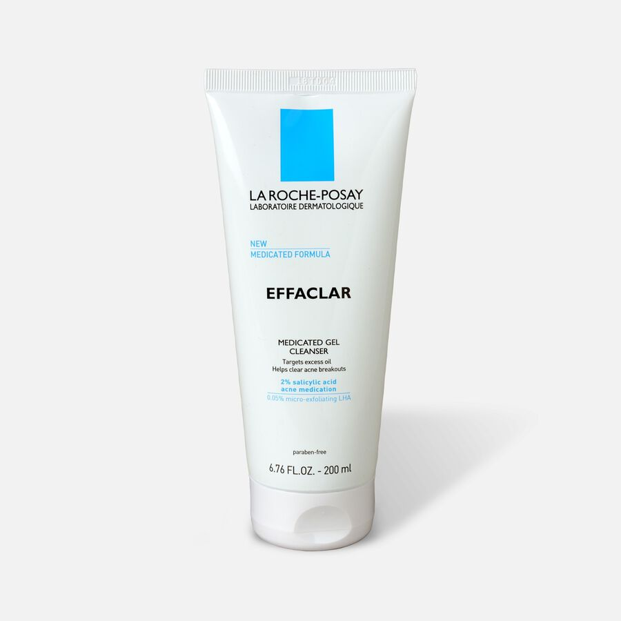 La Roche-Posay Effaclar Medicated Gel Acne Cleanser, 6.76oz, , large image number 0