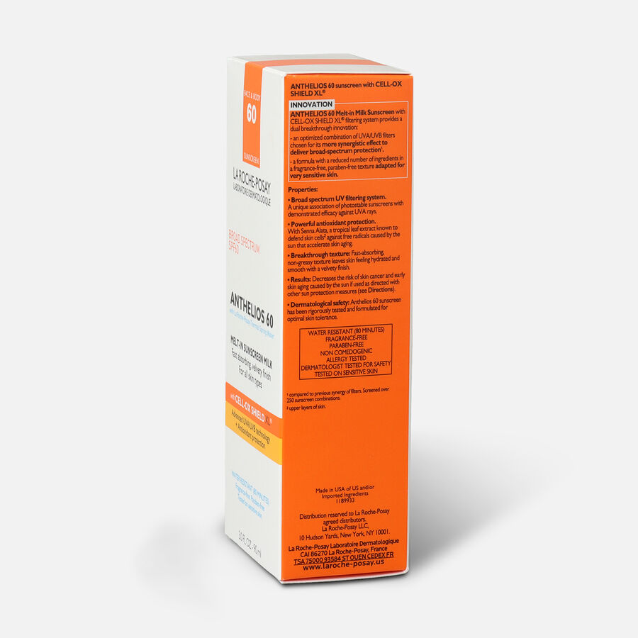 La Roche-Posay Anthelios Melt-In Milk Sunscreen, SPF 60, 3.04 fl oz, , large image number 4