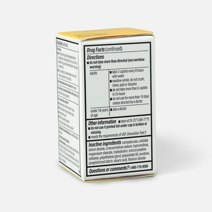 GoodSense® Arthritis Pain Relief 650 mg Extended Release Caplets, , large image number 4