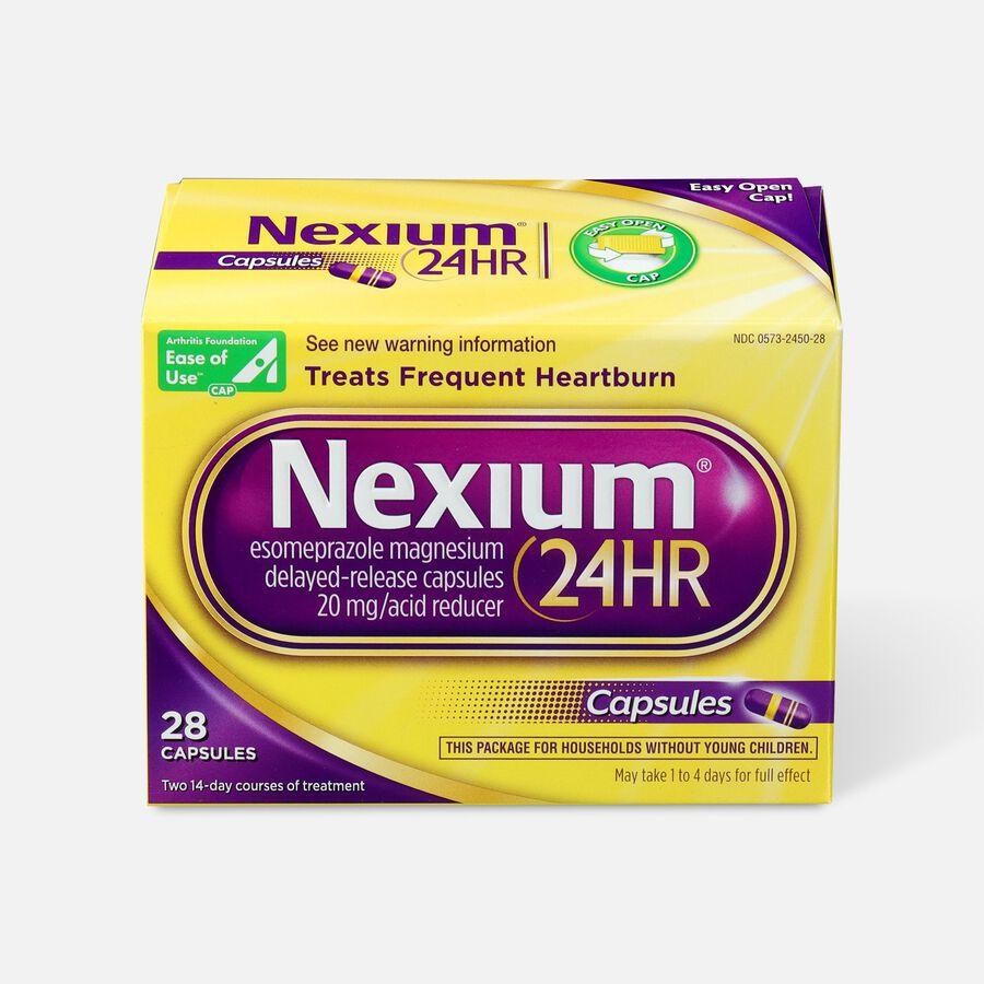 Nexium 24HR Capsules, 28 ct, , large image number 0