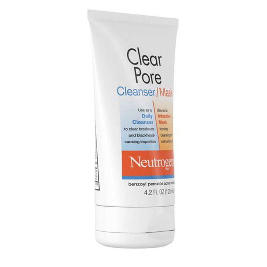 Neutrogena Clear Pore Cleanser / Mask, 4.2oz, , large image number 5