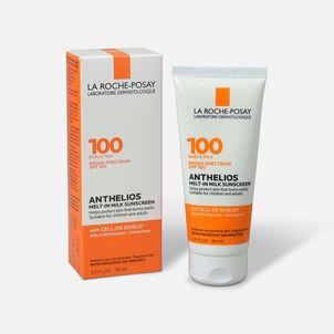 La Roche-Posay Anthelios Melt-In Milk Sunscreen for Face & Body SPF 100, 3 fl oz.