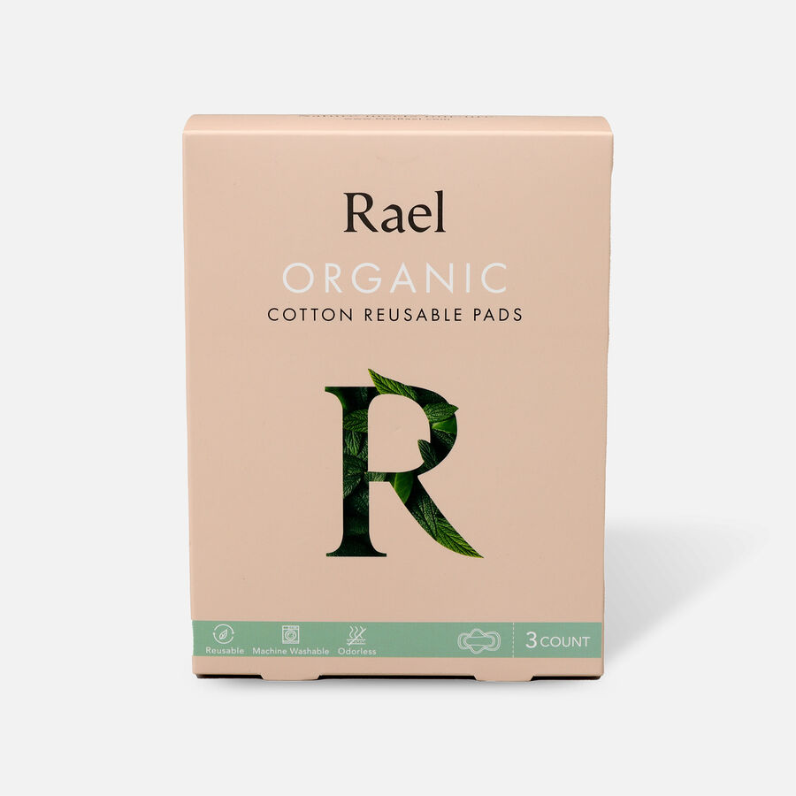 Rael Organic Cotton Reusable Pads, , large image number 0