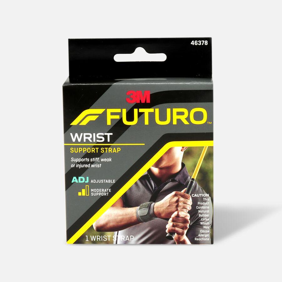 Futuro Adjustable Sport Wrap Around Wrist Support, Black, 1 ea , , large image number 0