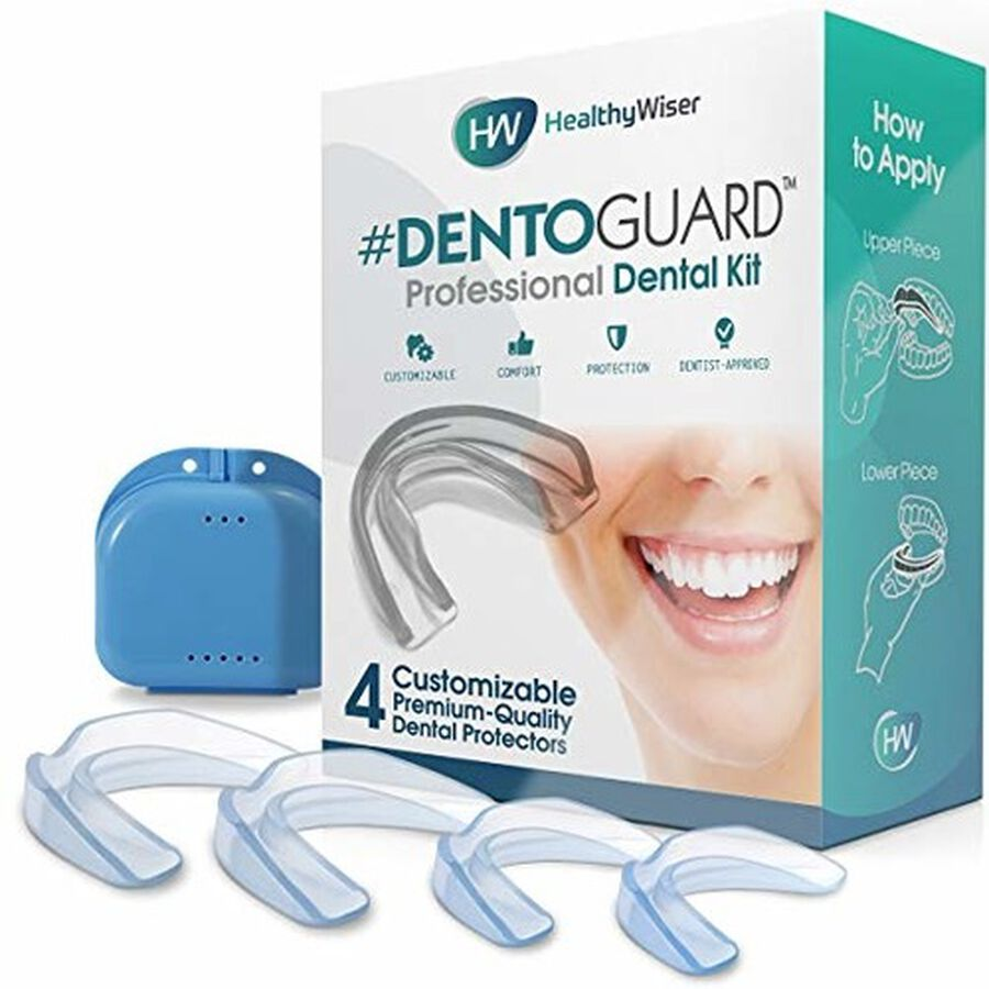 HealthyWiser DentoGuard Mouth Guard - 4ct, , large image number 0