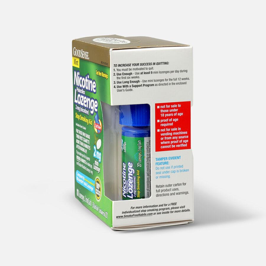 GoodSense® Nicotine Mini Lozenge Quit Tube Mint 2 mg, 81 ct, , large image number 3