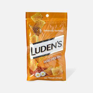 Luden's Wild Honey Throat Drops, 30 ct.