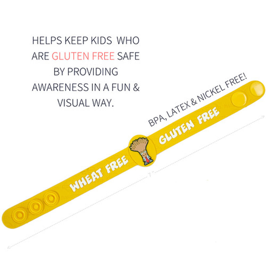 AllerMates Children's Allergy Alert Bracelet - Gluten Awareness, , large image number 1