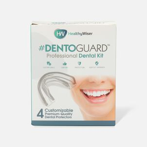 HealthyWiser DentoGuard Mouth Guard - 4ct