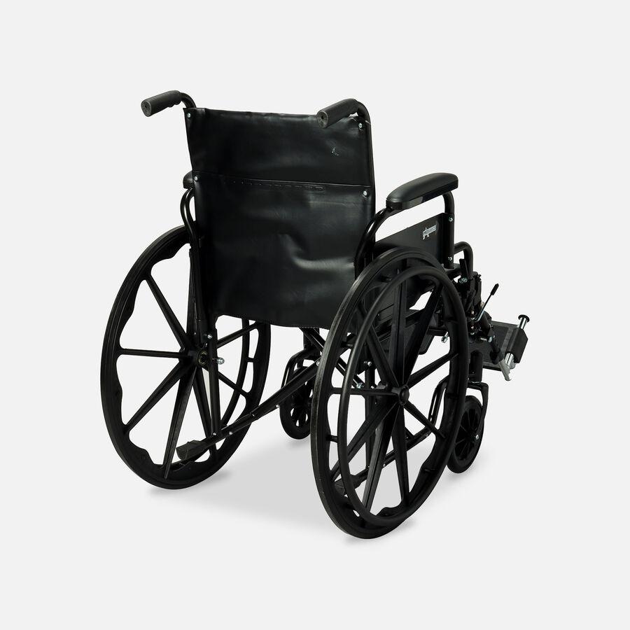 "ProBasics K1 Standard Wheelchair, Elevating Legrests, 18"" x 16"", , large image number 1"