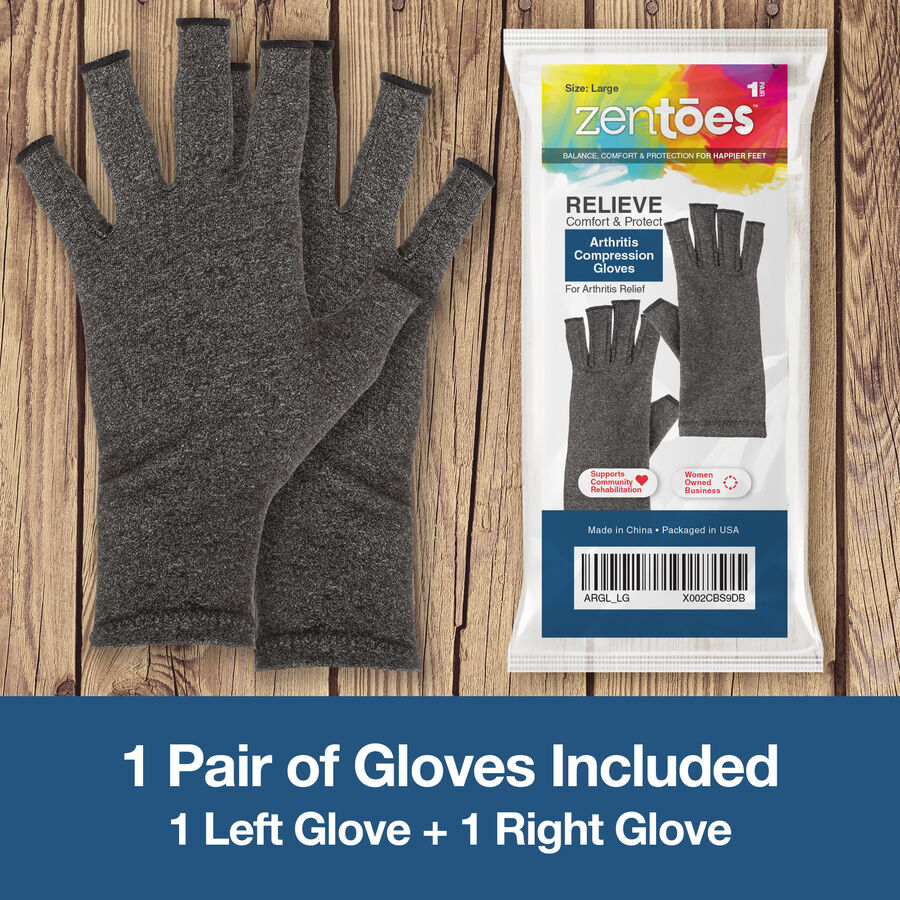 ZenToes Arthritis Compression Gloves, 1 pair, , large image number 10