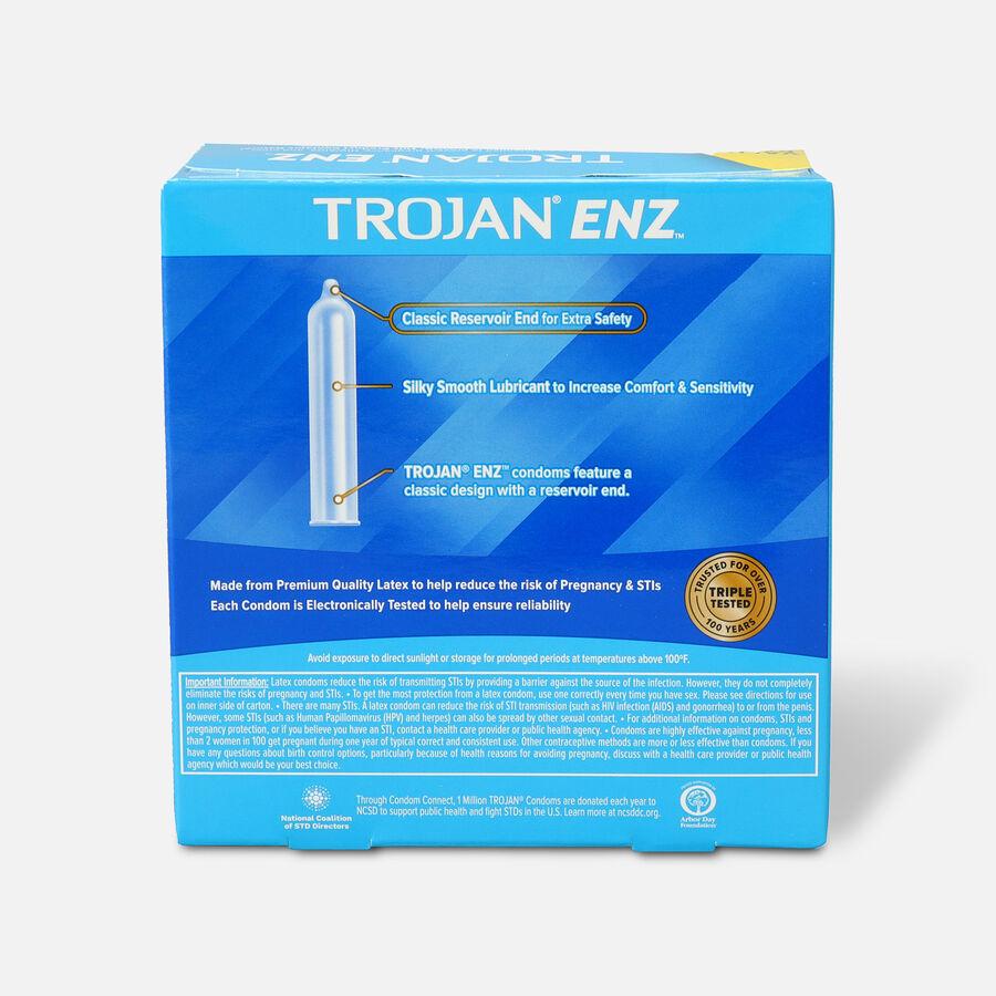 Trojan-Enz Lubricated Latex Condoms, 36 ea, , large image number 1