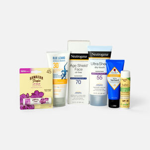 Sunscreen Travel Sizes Bundle