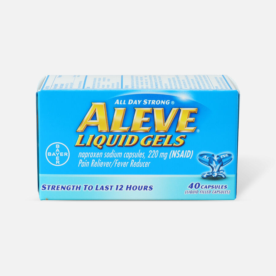 Aleve Liquid Gels Pain Reliever/Fever Reducer, , large image number 1