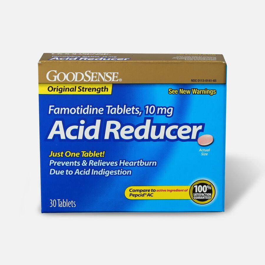 GoodSense® 10mg Famotidine Tablet 30 Count, Original Strength, , large image number 0
