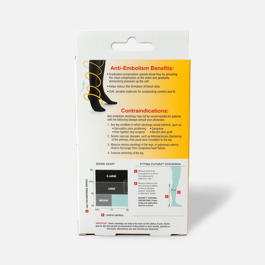 FUTURO Anti-Embolism Knee Length Stockings, , large image number 3