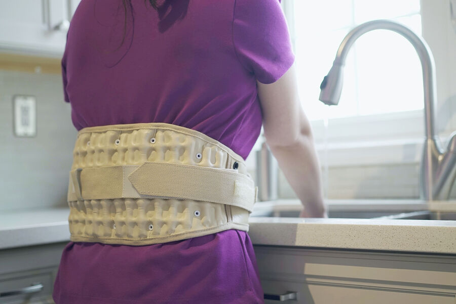 Dr-Ho's 2-in-1 Back Decompression Belt (Size A 25 to 41 inches), , large image number 10