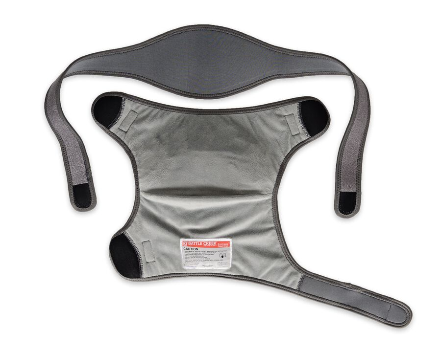 Battle Creek Embrace ™ Relief Shoulder Wrap – Portable, 3 Temperature Settings, Auto Shut Off, Wireless & Rechargeable Wrap, Battery-Operated Heat Therapy Wrap for Rotator Cuff and Shoulder Pain Relief, , large image number 23