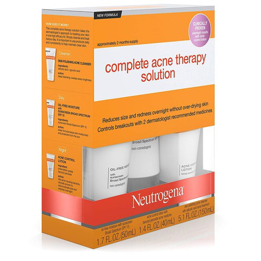 Neutrogena Complete Acne Therapy System, , large image number 2