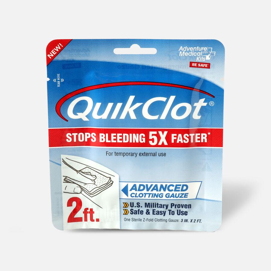 """QuikClot Gauze 3"""" x 2', , large image number 0"""