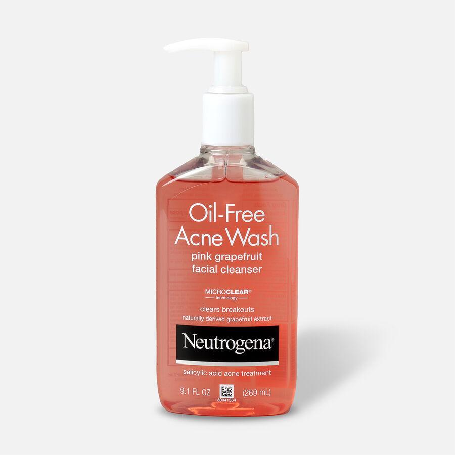Neutrogena Pink Grapefruit Oil-Free Acne Facial Wash, , large image number 2
