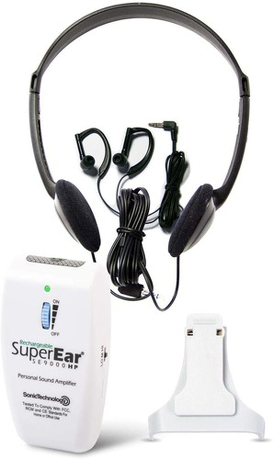 SuperEar SE9000HP Deluxe Rechargeable Personal Sound Amplifier, , large image number 0