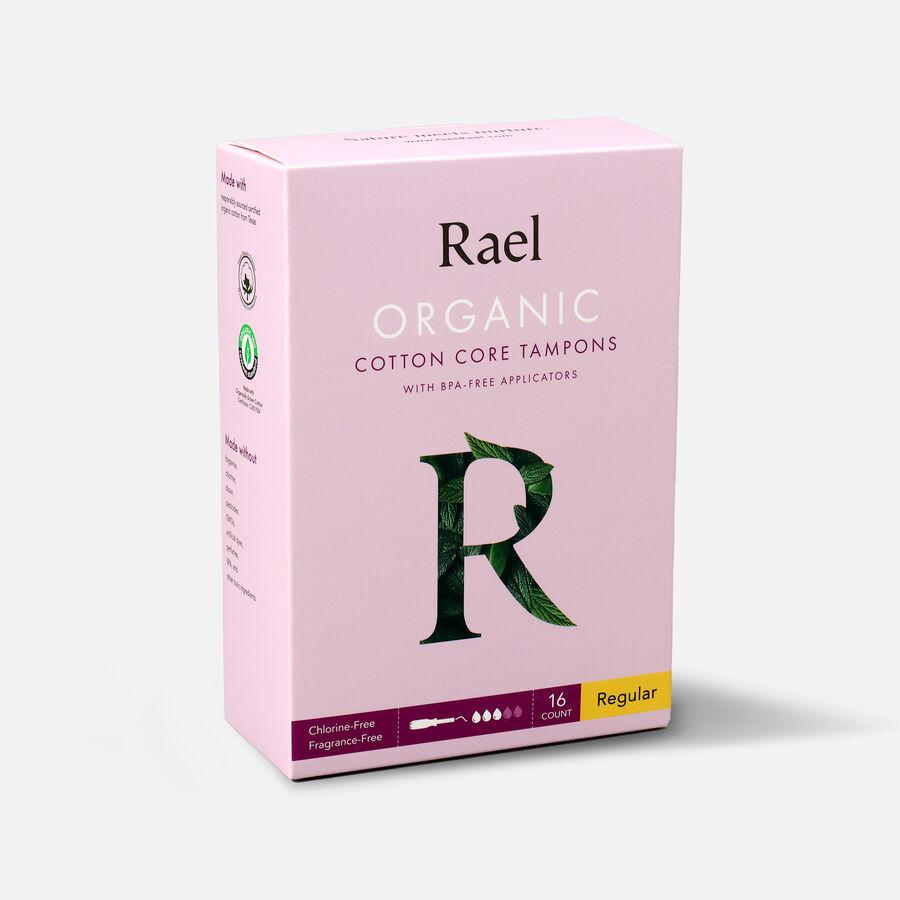 Rael Organic Cotton Core Tampons with BPA-Free Applicators - Regular, 16ct, , large image number 2